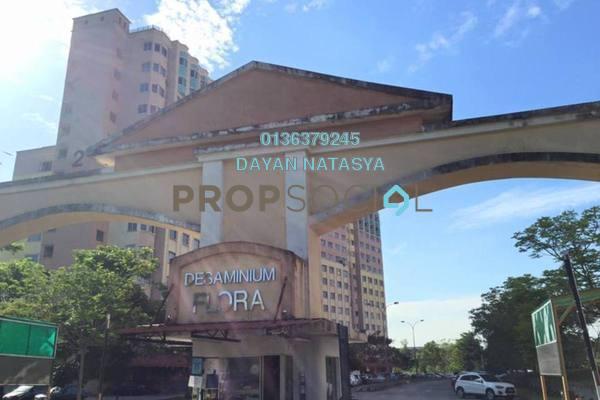 For Sale Apartment at Desaminium Flora, Bandar Putra Permai Freehold Unfurnished 3R/2B 200k