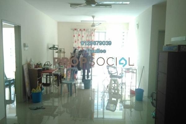 For Sale Condominium at Platinum Lake PV16, Setapak Freehold Semi Furnished 4R/2B 530k