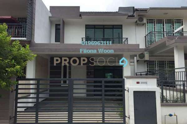 For Sale Terrace at Taman Muzaffar Heights, Ayer Keroh Leasehold Unfurnished 4R/3B 465k