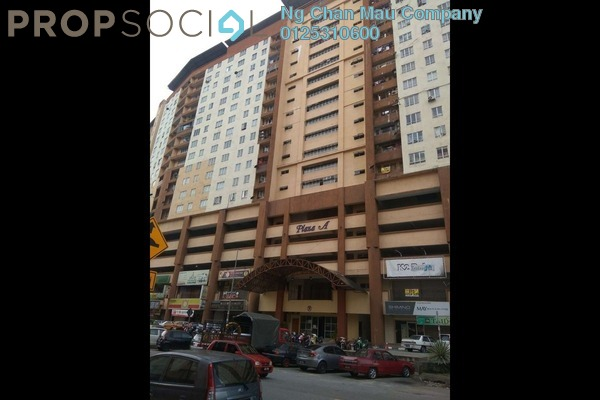 For Sale Apartment at Plaza Metro Prima, Kepong Freehold Semi Furnished 0R/0B 277k
