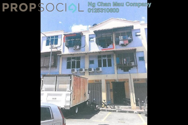 For Sale Apartment at Taman Orkid, Batu 9 Cheras Freehold Semi Furnished 0R/0B 190k