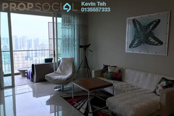 For Rent Condominium at Kiaramas Ayuria, Mont Kiara Freehold Semi Furnished 4R/3B 5.2k
