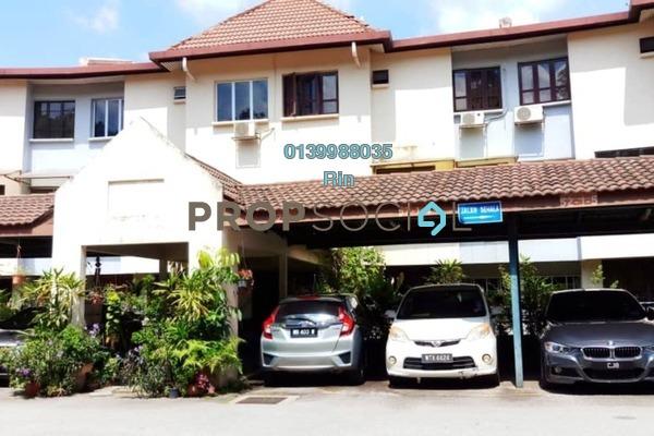 For Sale Condominium at Sri Ayu, Setiawangsa Freehold Semi Furnished 4R/3B 650k