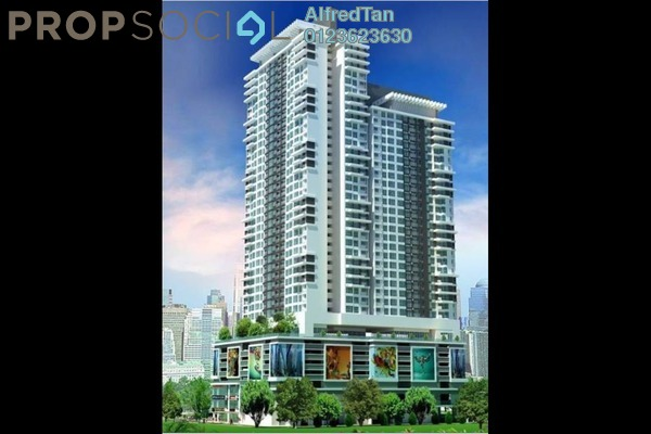 For Sale Serviced Residence at New Green Park, Rawang Freehold Unfurnished 2R/2B 335k