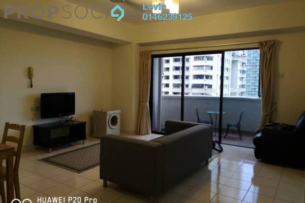 For Rent Condominium at Angkasa Impian 2, Bukit Ceylon Freehold Fully Furnished 1R/1B 2.3k