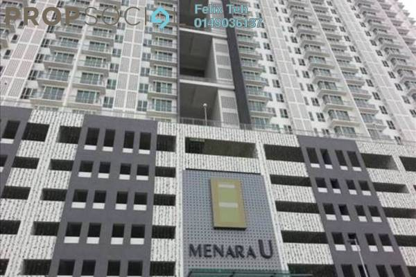 For Rent Serviced Residence at Menara U, Shah Alam Freehold Fully Furnished 2R/1B 1.9k