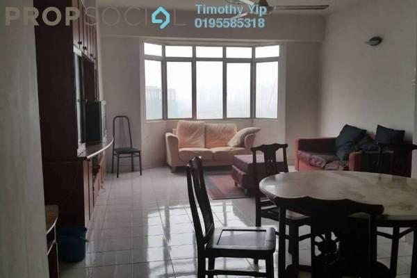 For Rent Condominium at Kelana Puteri, Kelana Jaya Freehold Fully Furnished 3R/2B 1.5k