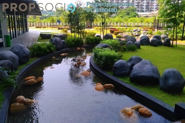 For Rent Condominium at The Vyne, Sungai Besi Freehold Semi Furnished 2R/2B 1.6k