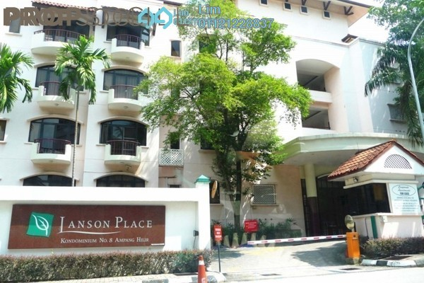 For Rent Condominium at Kondominium 8, Ampang Hilir Freehold Semi Furnished 2R/4B 3.7k