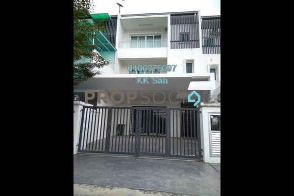 For Sale Superlink at Taman Taming Indah 2, Bandar Sungai Long Freehold Semi Furnished 6R/5B 1.16m