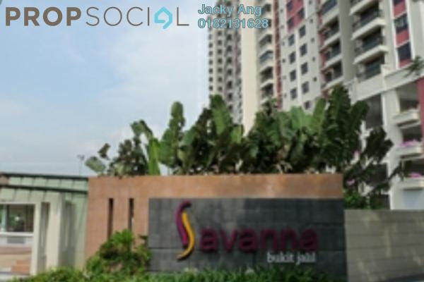 For Sale Condominium at Savanna 1, Bukit Jalil Freehold Semi Furnished 3R/2B 612k