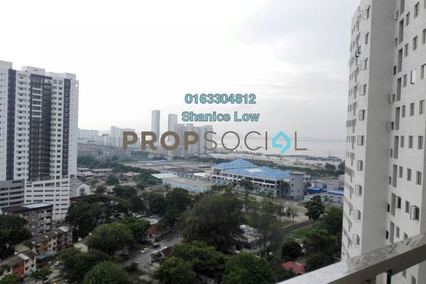 For Sale Serviced Residence at Straits Garden, Jelutong Freehold Semi Furnished 4R/2B 789k
