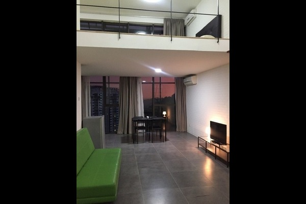 For Rent Duplex at Empire Damansara, Damansara Perdana Freehold Fully Furnished 1R/2B 1.5k