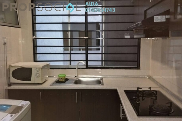 For Rent Condominium at Casa Tiara, Subang Jaya Freehold Fully Furnished 1R/1B 1.7k
