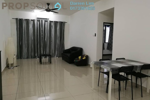 For Rent Serviced Residence at Landmark II, Bandar Sungai Long Freehold Semi Furnished 3R/2B 1.4k