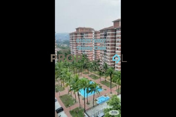 For Rent Condominium at Forest Green, Bandar Sungai Long Freehold Semi Furnished 3R/2B 1.3k
