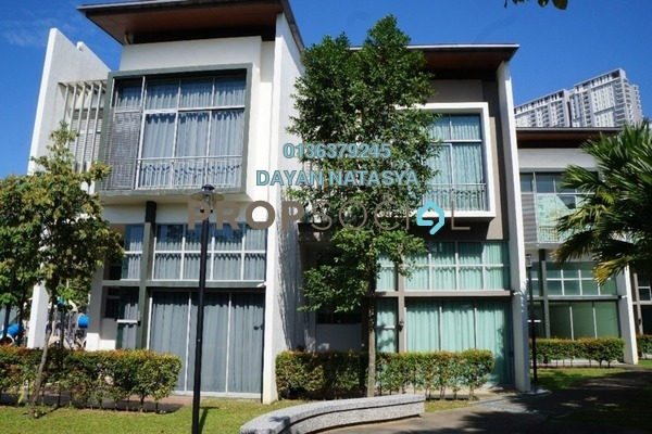 For Sale Superlink at Symphony Hills, Cyberjaya Freehold Fully Furnished 5R/5B 1.35m