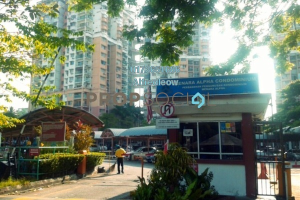 For Rent Condominium at Menara Alpha, Wangsa Maju Freehold Fully Furnished 3R/2B 1.55k