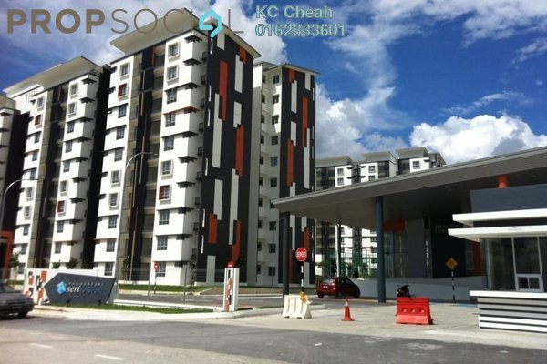 For Sale Condominium at Seri Kasturi, Setia Alam Freehold Unfurnished 3R/2B 350k