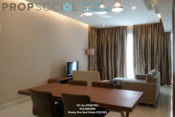 For Rent Serviced Residence at Regalia @ Jalan Sultan Ismail, Kuala Lumpur Freehold Fully Furnished 1R/1B 3.4k