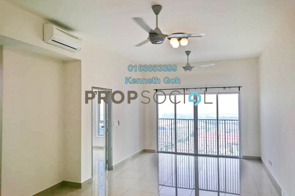 For Rent Condominium at The Wharf, Puchong Freehold Semi Furnished 2R/2B 1.4k
