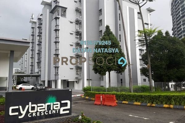 For Sale Condominium at Cyberia Crescent 2, Cyberjaya Freehold Semi Furnished 3R/2B 300k