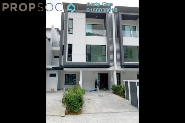 For Rent Townhouse at Sunway Montana, Melawati Freehold Semi Furnished 3R/4B 3.5k