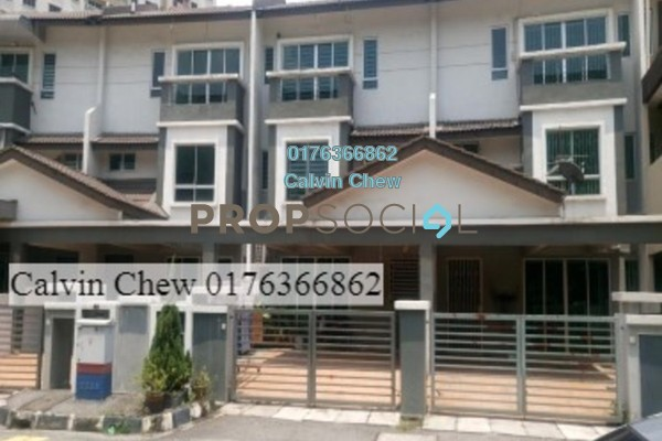 For Sale Terrace at Taman Perai Utama, Seberang Jaya Freehold Unfurnished 0R/0B 502k