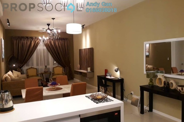 For Rent Condominium at EcoSky, Jalan Ipoh Freehold Fully Furnished 2R/2B 2.4k