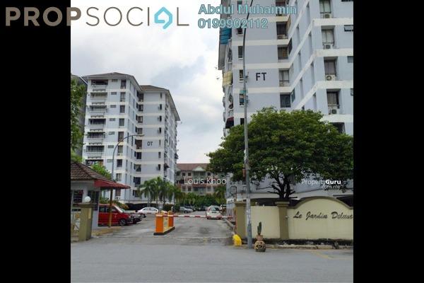 For Sale Condominium at Le Jardine, Pandan Indah Leasehold Semi Furnished 3R/2B 415k