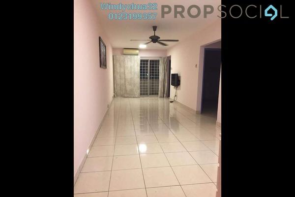 For Rent Apartment at Aliran Damai, Cheras South Freehold Semi Furnished 3R/2B 1k