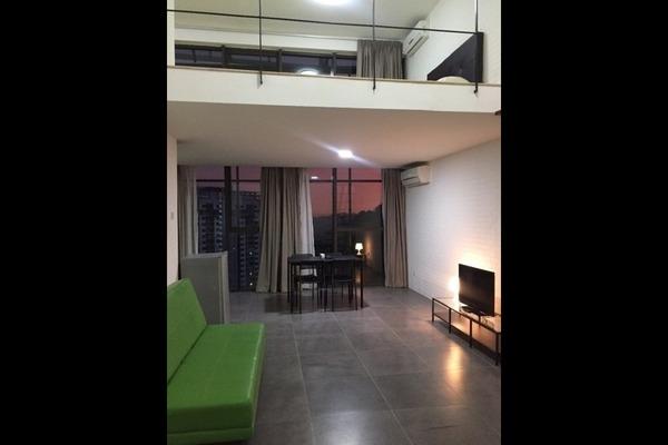 For Rent Duplex at Empire Damansara, Damansara Perdana Freehold Fully Furnished 1R/2B 1.5k