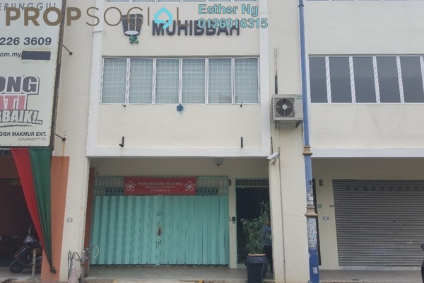 For Rent Shop at Taman Setia Jaya, Rawang Freehold Unfurnished 0R/2B 2.2k