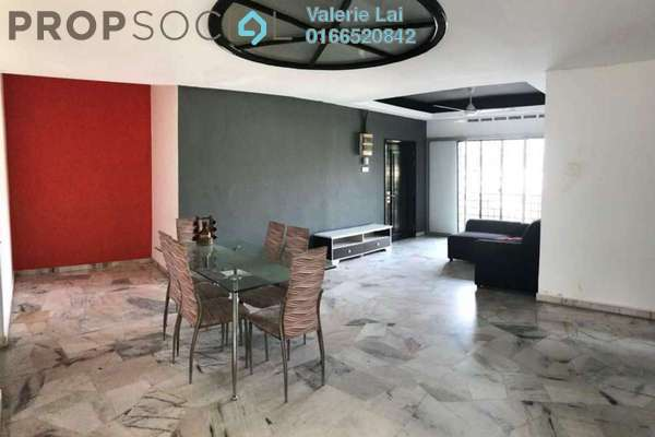 For Rent Apartment at Goodyear Court 3, UEP Subang Jaya Freehold Fully Furnished 3R/2B 1.2k