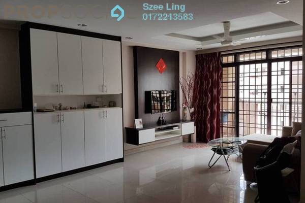 For Rent Condominium at Pelangi Astana, Bandar Utama Freehold Fully Furnished 3R/2B 1.8k