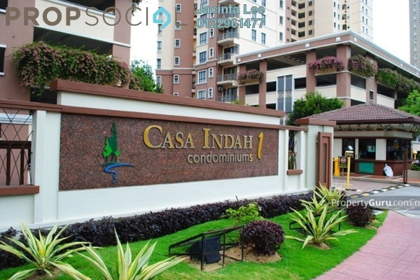 For Sale Condominium at Casa Indah 1, Tropicana Freehold Semi Furnished 3R/3B 565k