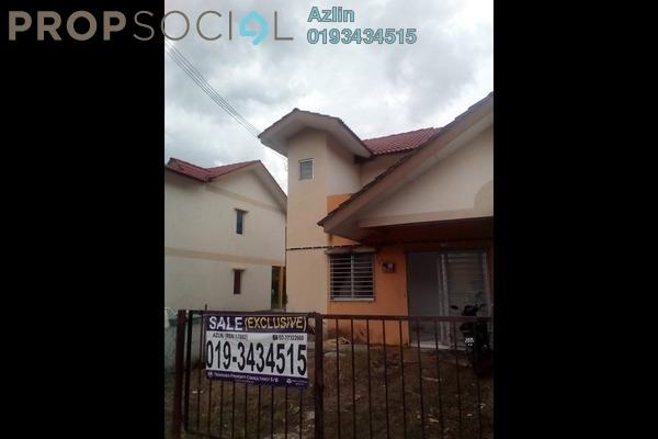 For Sale Terrace at Taman Serendah Makmur, Serendah Freehold Unfurnished 3R/2B 215k