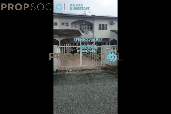 For Sale Superlink at Taman Saga, Klang Freehold Semi Furnished 5R/3B 638k