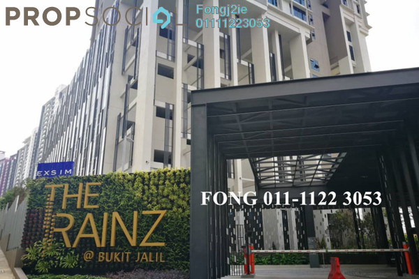 For Rent Condominium at The Rainz, Bukit Jalil Freehold Semi Furnished 4R/3B 3.3k