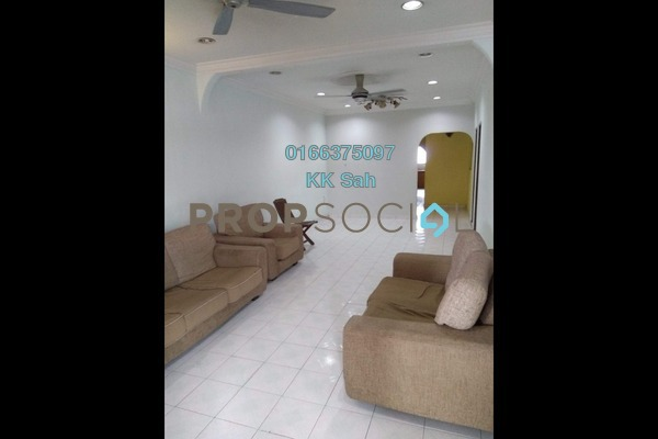 For Sale Terrace at Taman Klang Jaya, Klang Freehold Semi Furnished 3R/3B 500k