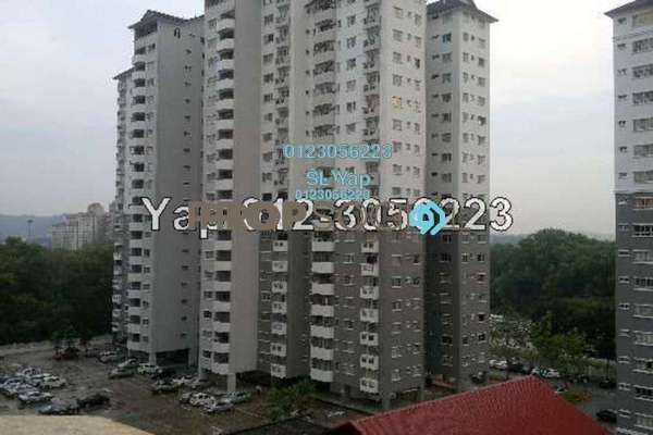 For Sale Condominium at Endah Ria, Sri Petaling Leasehold Semi Furnished 3R/2B 420k