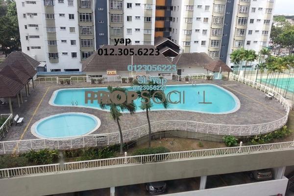 For Sale Condominium at Endah Regal, Sri Petaling Freehold Fully Furnished 3R/2B 350k