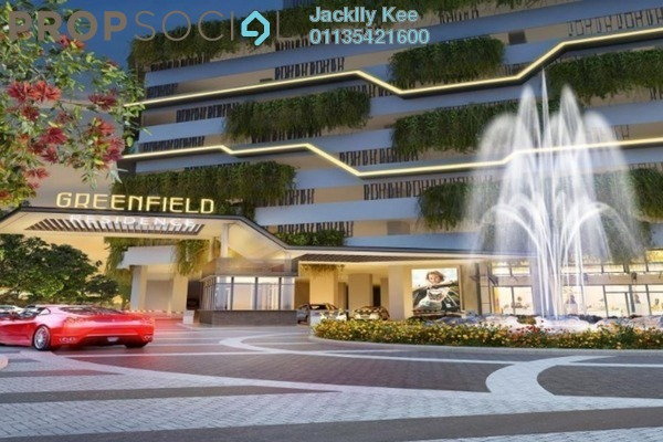For Sale Serviced Residence at Greenfield Residence, Bandar Sunway Freehold Semi Furnished 2R/2B 540k