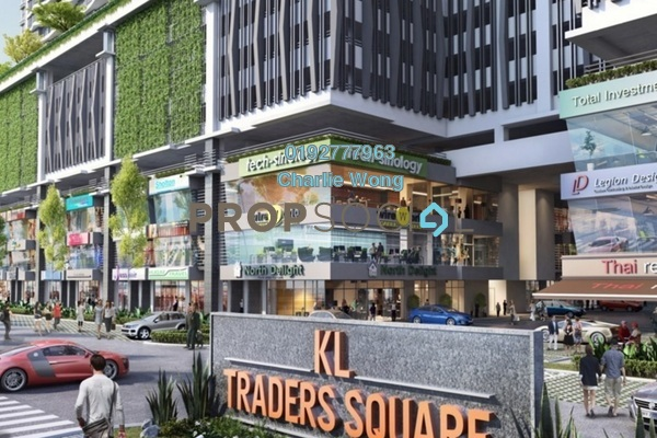 For Rent Shop at KL Traders Square, Kuala Lumpur Freehold Unfurnished 0R/0B 3.5千