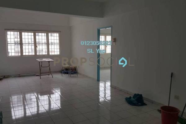 For Rent Condominium at Endah Ria, Sri Petaling Freehold Semi Furnished 3R/2B 1.1k