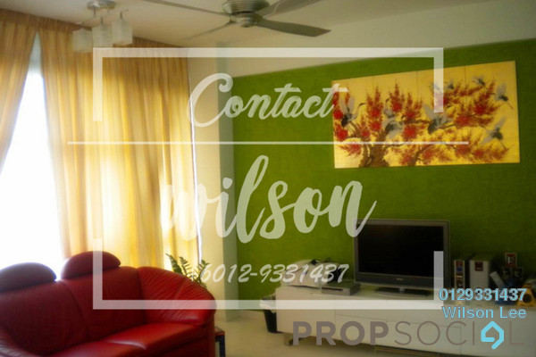 For Rent Condominium at The Saffron, Sentul Freehold Fully Furnished 3R/4B 3k