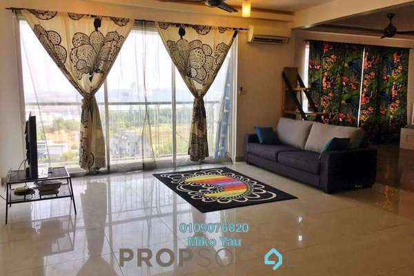 For Rent Serviced Residence at Ritze Perdana 2, Damansara Perdana Freehold Fully Furnished 1R/1B 1.7k