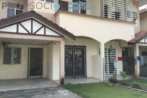 For Sale Terrace at Alam Perdana, Kuala Selangor Freehold Unfurnished 4R/3B 340k