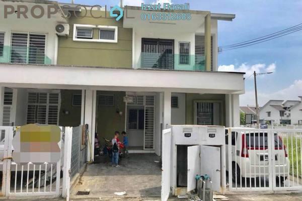 For Sale Townhouse at Pearl Villa, Bandar Saujana Putra Freehold Semi Furnished 3R/2B 319k