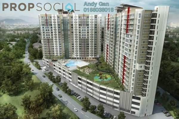 For Rent Condominium at 228 Selayang Condominium, Selayang Freehold Semi Furnished 3R/2B 1.3k